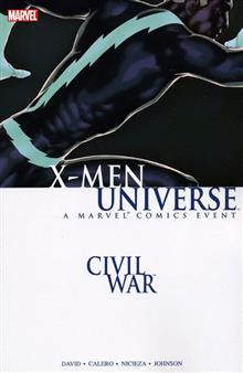 CIVIL WAR X-MEN UNIVERSE TP