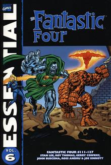 ESSENTIAL FANTASTIC FOUR VOL 6 TP