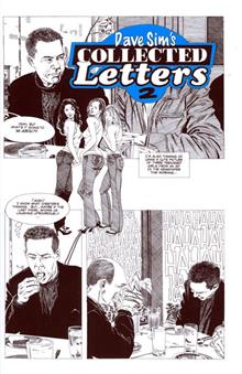 DAVE SIM COLLECTED LETTERS VOL 2
