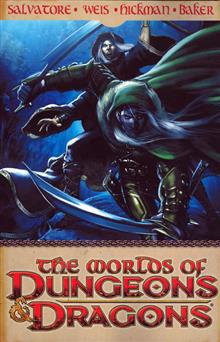 WORLDS OF DUNGEONS & DRAGONS TP VOL 01