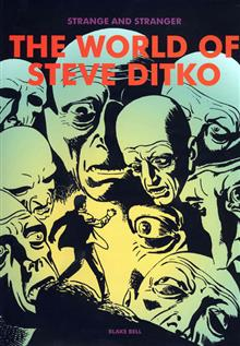STRANGE & STRANGER WORLD OF STEVE DITKO HC (C: 0-1