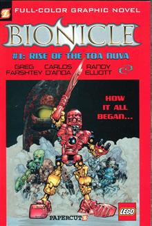 BIONICLE GN VOL 01