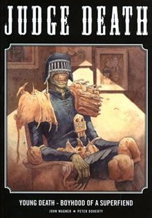 JUDGE DEATH YOUNG DEATH BOYHOOD OA SUPERFIEND GN