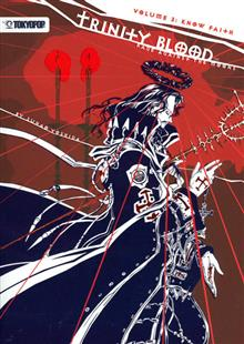 TRINITY BLOOD RAGE AGAINST THE MOONS NOVEL VOL 03
