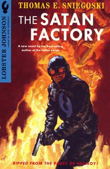 LOBSTER JOHNSON SATAN FACTORY NOVEL
