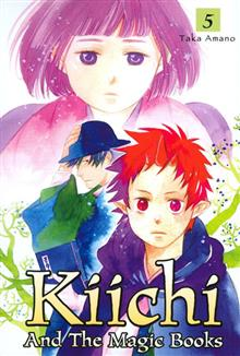 KIICHI AND THE MAGIC BOOKS VOL 5