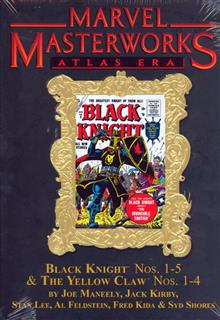 MMW ATLAS ERA BLACK KNIGHT VOL 1 HC VAR ED 123