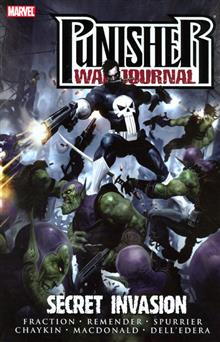 PUNISHER WAR JOURNAL VOL 5 SECRET INVASION TP