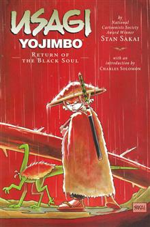 USAGI YOJIMBO TP VOL 24 RETURN OF BLACK SOUL