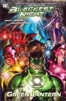BLACKEST NIGHT GREEN LANTERN HC