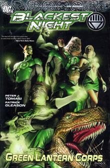 BLACKEST NIGHT GREEN LANTERN CORPS HC