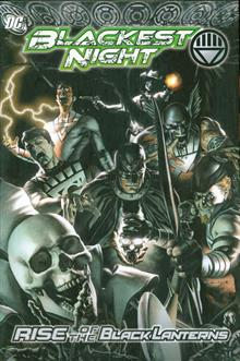 BLACKEST NIGHT RISE OF THE BLACK LANTERNS HC