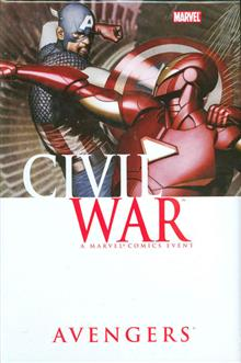 CIVIL WAR AVENGERS HC