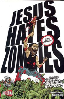JESUS HATES ZOMBIES LINCOLN HATES WEREWOLVES GN VOL 04 (OF 4)