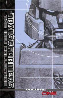 TRANSFORMERS IDW COLLECTION HC VOL 01