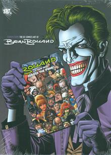 COVER STORY DC COMICS ART OF BRIAN BOLLAND HC