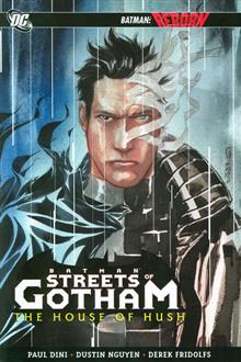 BATMAN STREETS OF GOTHAM HC VOL 03 HOUSE OF HUSH