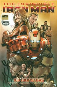 INVINCIBLE IRON MAN PREM HC VOL 07 MY MONSTERS