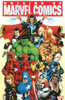 ORIGINS OF MARVEL COMICS TP