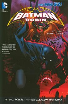 BATMAN & ROBIN HC VOL 01 BORN TO KILL