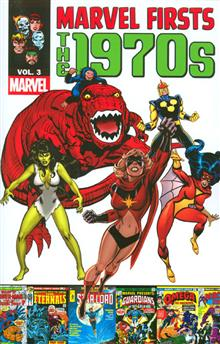 MARVEL FIRSTS 1970S TP VOL 03