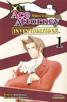 MILES EDGEWORTH ACE ATTORNEY GN VOL 01 (MR)
