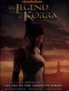 LEGEND KORRA ART ANIMATED SERIES BOOK ONE AIR HC