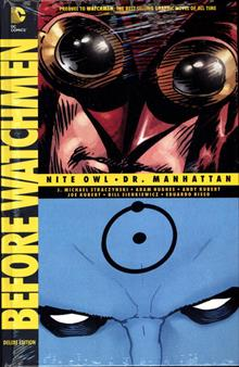 BEFORE WATCHMEN NITE OWL DR MANHATTAN DLX HC (MR)