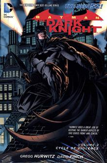 BATMAN THE DARK KNIGHT HC CYCLE OF VIOLENCE (N52)