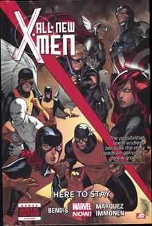ALL NEW X-MEN PREM HC VOL 02 HERE TO STAY