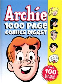 ARCHIES 1000 PG COMICS DIGEST TP