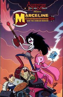 ADVENTURE TIME MARCELINE & THE SCREAM QUEENS TP VOL