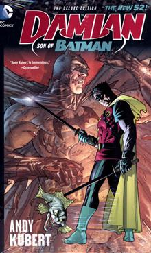 DAMIAN SON OF BATMAN DELUXE ED HC (N52)