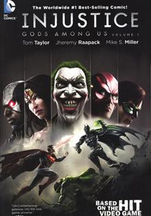 INJUSTICE GODS AMONG US TP VOL 01