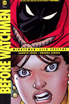 BEFORE WATCHMEN MINUTEMEN SILK SPECTRE TP
