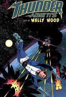 THUNDER AGENTS THE BEST OF WALLY WOOD HC