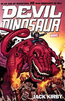 DEVIL DINOSAUR BY JACK KIRBY TP COMPLETE COLLECTION