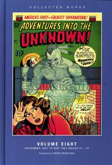 ACG COLL WORKS ADV INTO UNKNOWN HC VOL 08