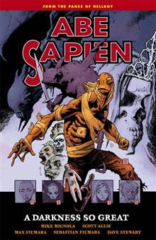 ABE SAPIEN TP VOL 06 DARKNESS SO GREAT (C: 0-1-2)