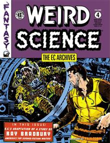 EC ARCHIVES WEIRD SCIENCE HC VOL 04 (RES) (C: 0-1-2)