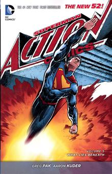 SUPERMAN ACTION COMICS TP VOL 05 WHAT LIES BENEATH (N52)