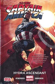 ALL NEW CAPTAIN AMERICA PREM HC VOL 01 HYDRA ASCENDANT