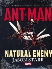 ANT-MAN NATURAL ENEMY PROSE NOVEL HC