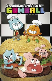 AMAZING WORLD OF GUMBALL TP VOL 01