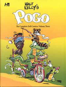 WALT KELLY POGO COMP DELL COMICS HC VOL 03