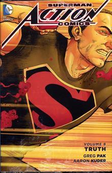SUPERMAN ACTION COMICS HC VOL 08 TRUTH