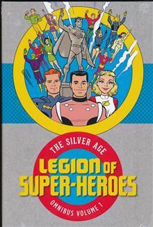LEGION OF SUPER HEROES SILVER AGE OMNIBUS HC VOL 01
