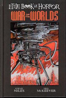 LITTLE BOOK OF HORROR HC WAR OF THE WORLDS