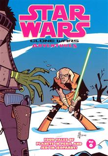 STAR WARS CLONE WARS ADVENTURE VOL 6 TP