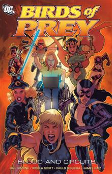 BIRDS OF PREY BLOOD AND CIRCUITS TP